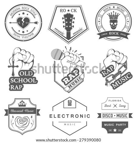 Old School Rap Symbols