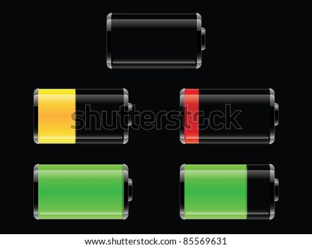 Set of Vector batteries