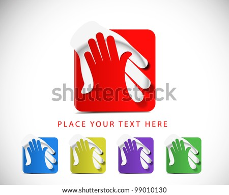 set of vector deal web icon design element. - stock vector