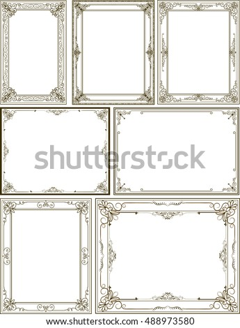 Frame art 39 s portfolio on shutterstock for Mirror will template