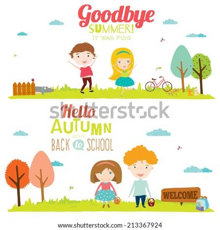 Kids Saving Earth Kids Saving World Stock Vector 303122957 - Shutterstock