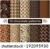 Set of vector patterns - stock vector