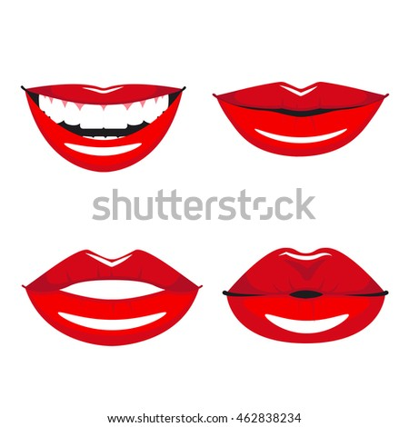 how to smile with thick lips