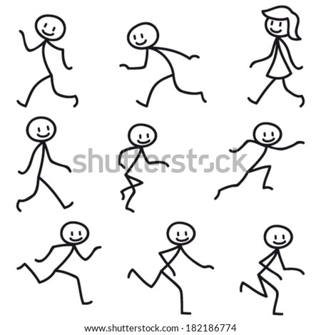 Search as well Search moreover Happy Life Happy Face as well Light bulb cartoon furthermore Stick figure running. on happy group stock