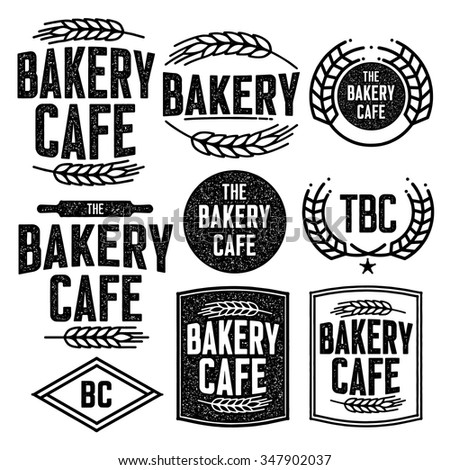 Bakery Logo Stock Images Royalty Free Images Vectors