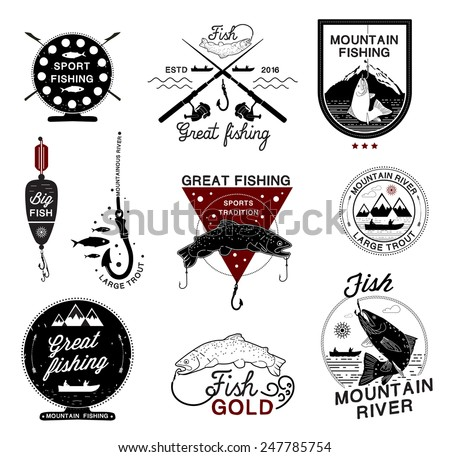 Fishing Logo Stock Images, Royalty-Free Images & Vectors ...