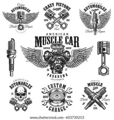Racing Engine Stock Images RoyaltyFree Images Vectors Shutterstock - Car show t shirt design template