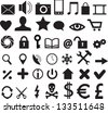 Set of web, business and mobile icons - stock vector