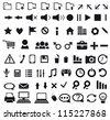 Set of Web Icon. Vector illustration. - stock vector
