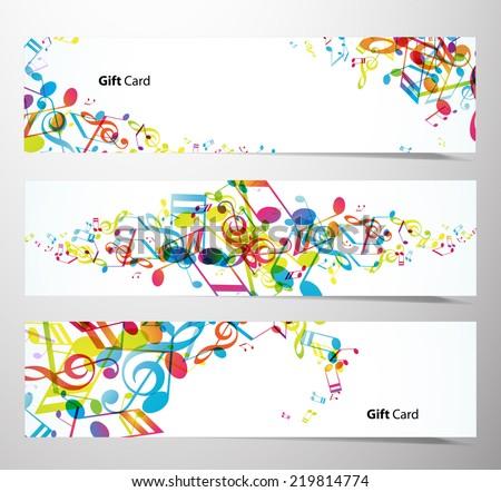 Set of website banners. - stock vector