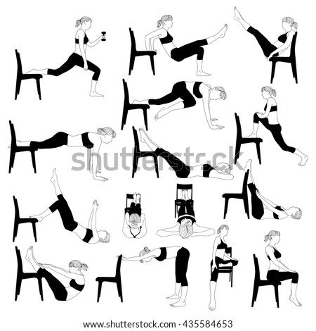 chair exercises for seniors with pictures pdf