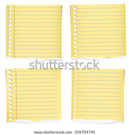 Yellow Notebook Paper Photos RoyaltyFree Images Vectors – Yellow Notebook Paper Background