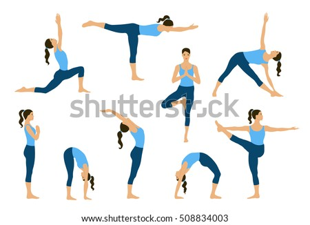 Yoga Poses Stock Images, Royalty-Free Images & Vectors | Shutterstock