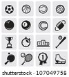 set sports - stock vector