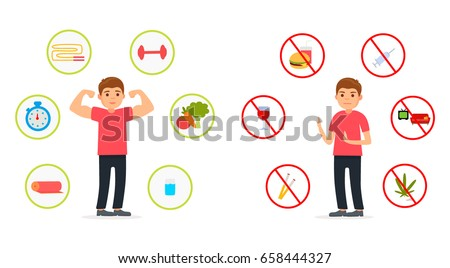 healthy and unhealthy lifestyles Health habits, and academic score &unhealthy lifestyle behaviors' have impacts in students health & academic score recommendation : universities need to pay attention to studen ts health and wellbeing& a national program must be conduct.