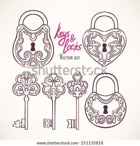 Lock And Key Stock Photos Images Amp Pictures Shutterstock