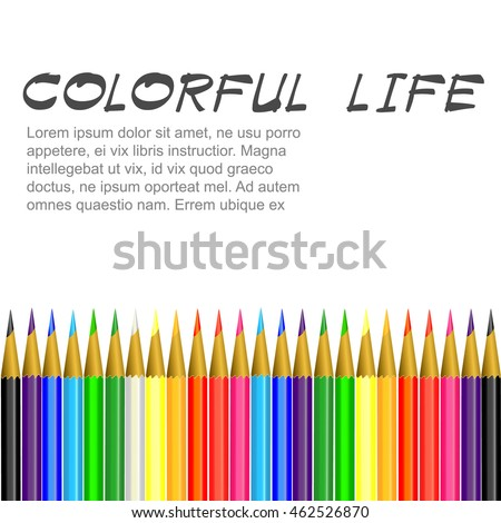 Sets of Colorful Crayons