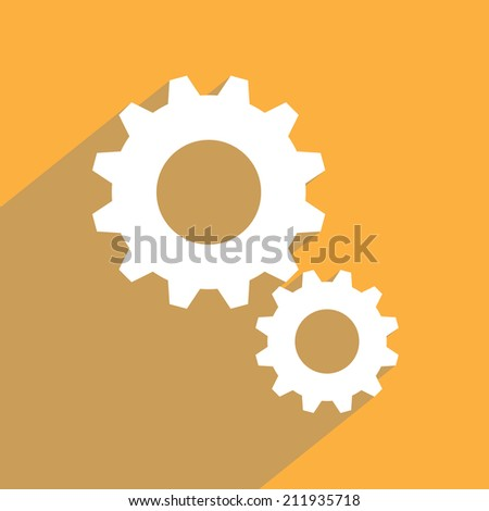Settings Icon vector illustration