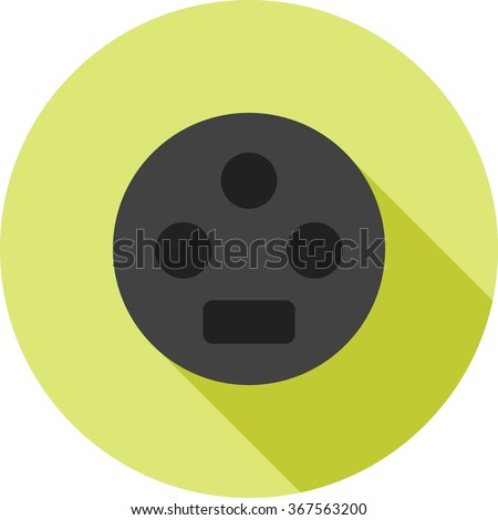 Settings Input SVideo - stock vector