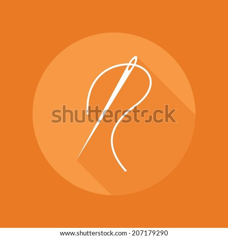 Sewing icon - stock vector