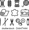 Sewing/Tailor Elements - stock vector