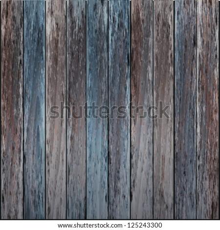 shabby texture plank walls vector - stock vector