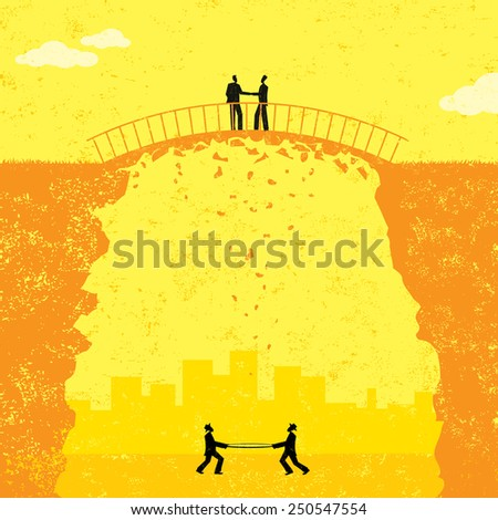 Business merger two businessmen shaking hands stock vector shaky business agreement two businessmen in a shaky business agreement if the deal falls apart platinumwayz