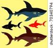 Shark - stock photo