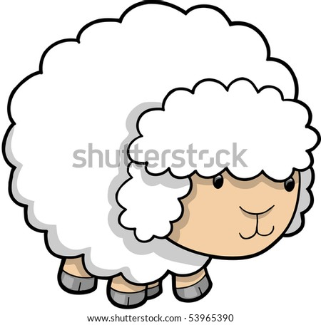 Sheep Vector Image Sheep Lamb Vector Illustration