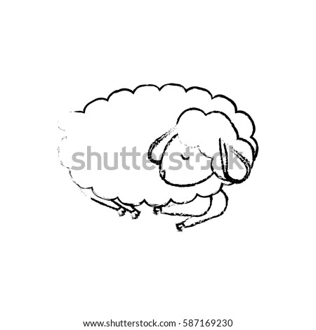 sleeping sheep coloring pages - photo#24