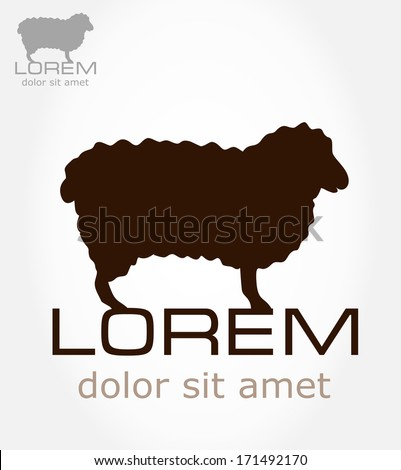 Sheep Vector Image Sheep Symbol Lamb Vector