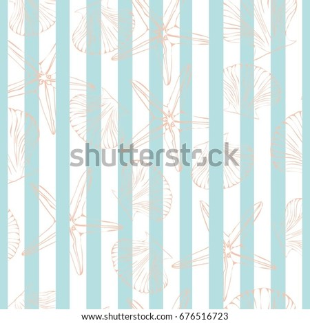 shell pattern, vector, illustration