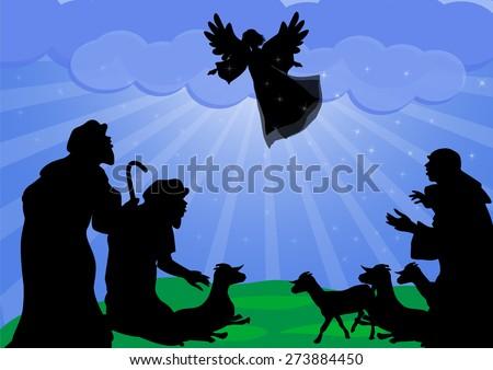 nativity shepherds stock images royaltyfree images