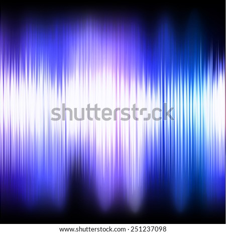 Shining northern lights background