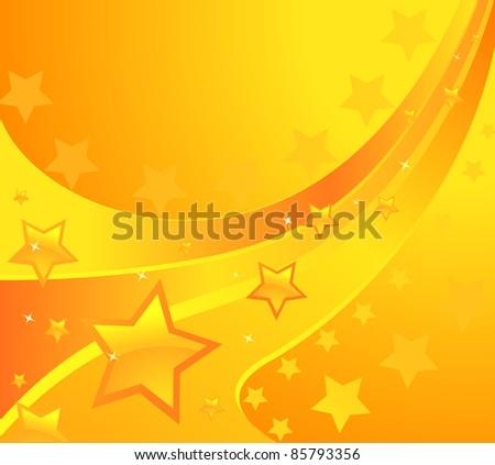 shining stars background. Design vector - stock vector