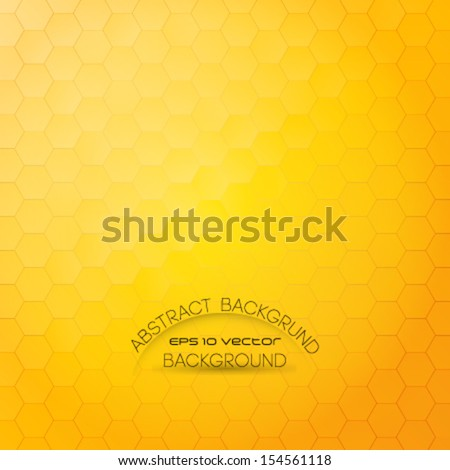 Honeycomb background stock images royalty free images vectors shiny and stylish honeycomb background abstract geometric orange background for designs cover works etc voltagebd Image collections