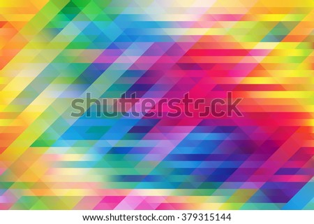 Shiny colorful mesh background with polygonal shapes