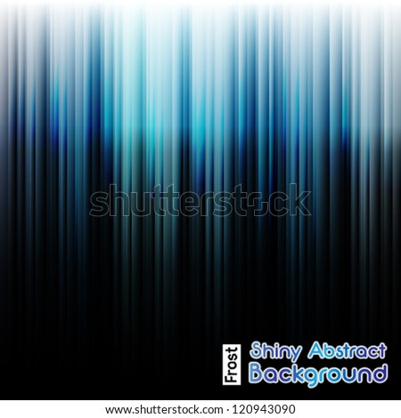 Shiny Frost Neon Abstract Background - stock vector