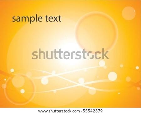 Shiny Vector Background - stock vector