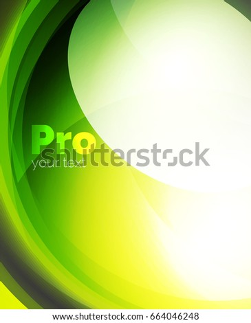 Shiny wave, glass futuristic hi-tech design. Vector abstract background for your text message, photo inside or presentation wallpaper