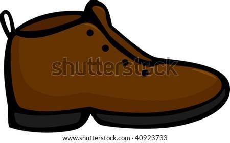 shoe - stock vector