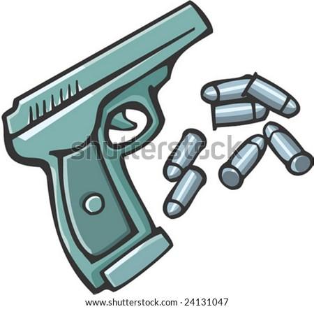 Shooter - stock vector