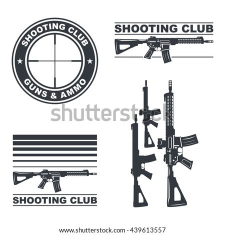 Gun Logo Stock Images, Royalty-Free Images & Vectors | Shutterstock