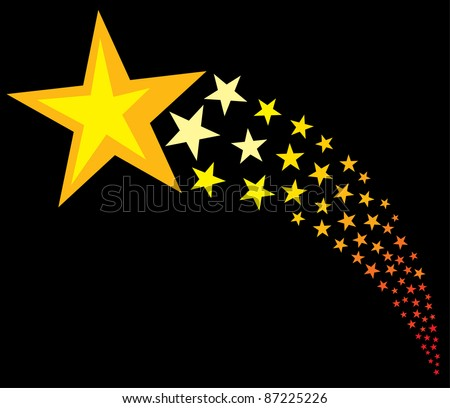 Shooting Star Stock Photos Images Amp Pictures Shutterstock