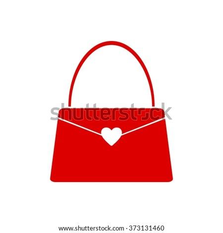 Shopping Bag Beauty Woman Logo Template - stock vector