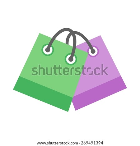 Shopping, bag, hand carry, gift icon vector image. Can also be used for eCommerce, shopping, business. Suitable for web apps, mobile apps and print media.