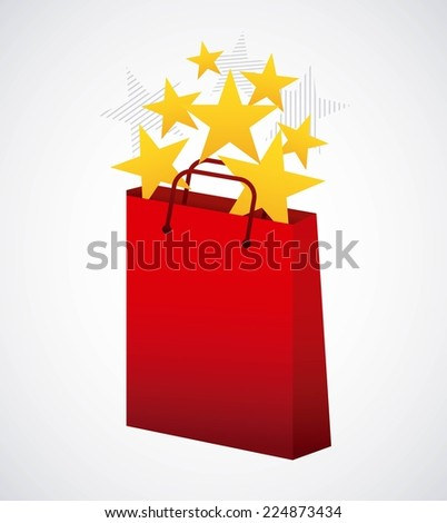 shopping graphic design , vector illustration