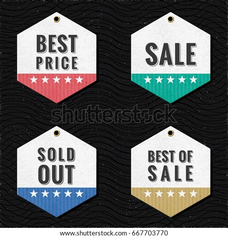 shopping tags best price sale sold stock vector 667703770 shutterstock