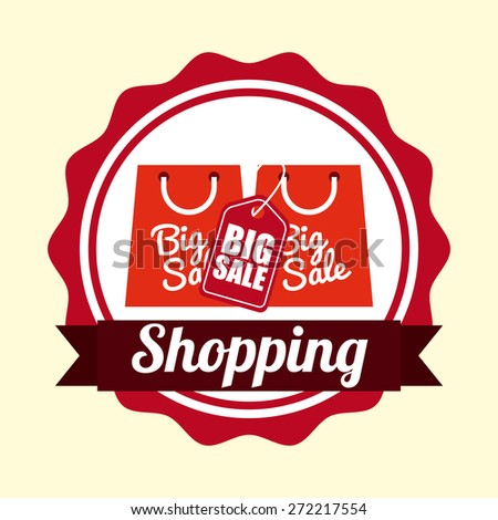 shopping tags design, vector illustration eps10 graphic