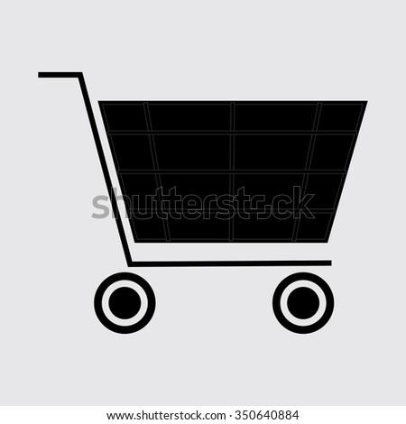 Shopping Trolley - stock vector